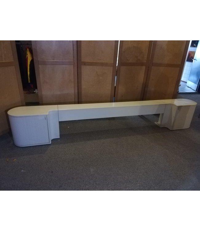 Auping Auronde Wit achterwand  160  cm