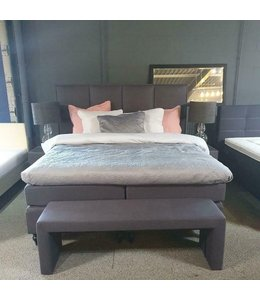 Boxspring Carré Antraciet Showmodel