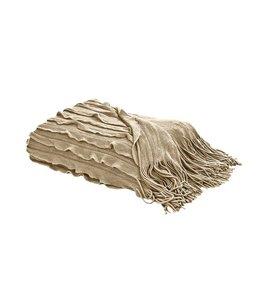 Volants-plaid Sand