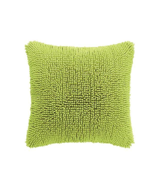 Living Room Shaggy Kussen Lime