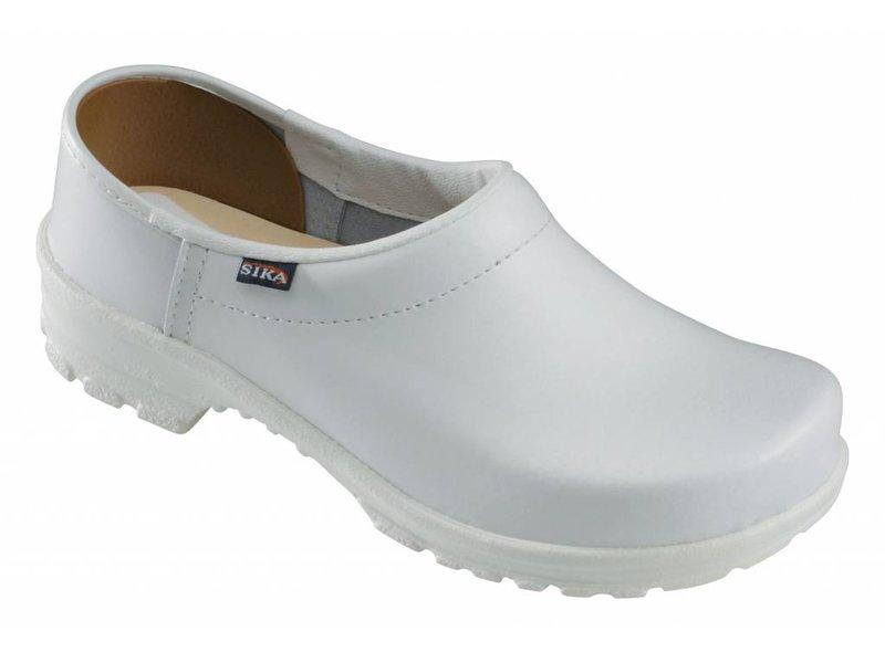 Sika witte klompen 125 comfort OB