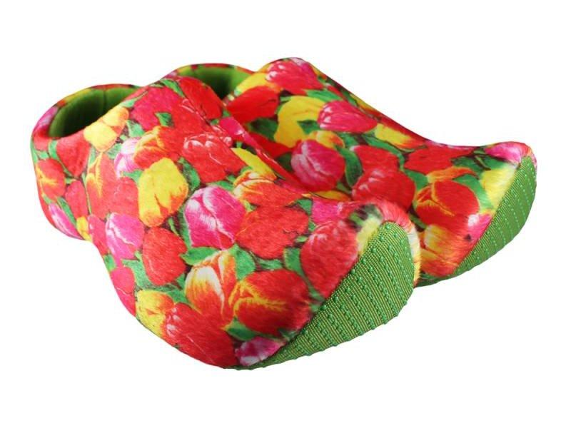 Nijhuis pantoffel klompen Groen Tulp