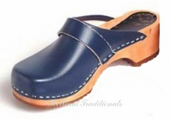 Holland Traditionals classic klomp blauw
