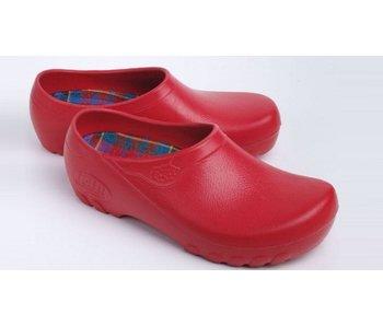 JOLLY fashion gesloten klomp rood jolly/Saliha