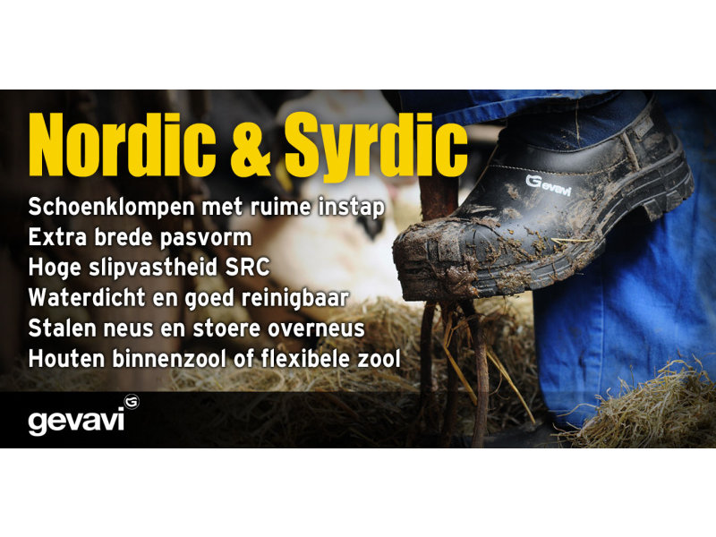 Gevavi Schoenklomp Nordic D.H. Hout