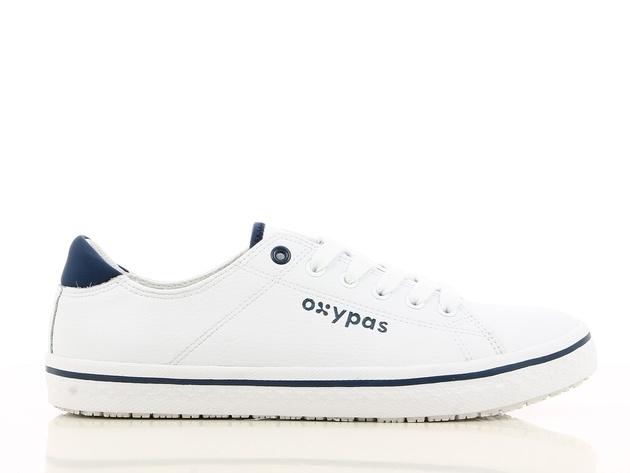 Oxypass Oxypas Sneaker leer Clark Wit