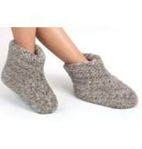 Woolwarmers WoolWarmers Wollen Slof Dolly 9174 Grijs 919