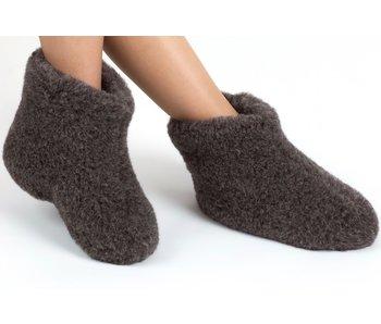 Woolwarmers WoolWarmers Wollen Slof Dolly 9174 Zwart 918