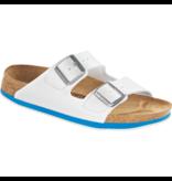 Birkenstock Dames Muil Arizona SL 54243 Wit/Blauw