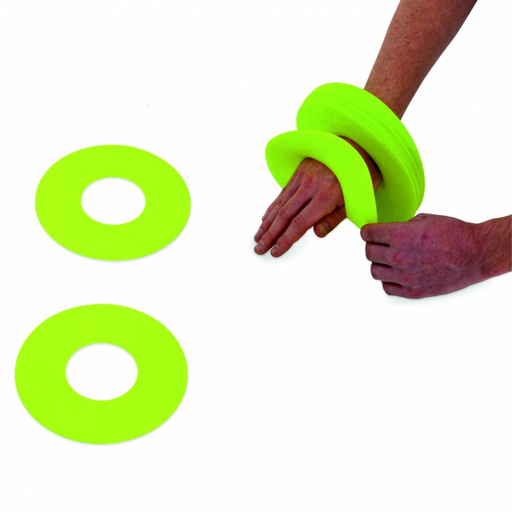 FLAT RING MARKERS X 10