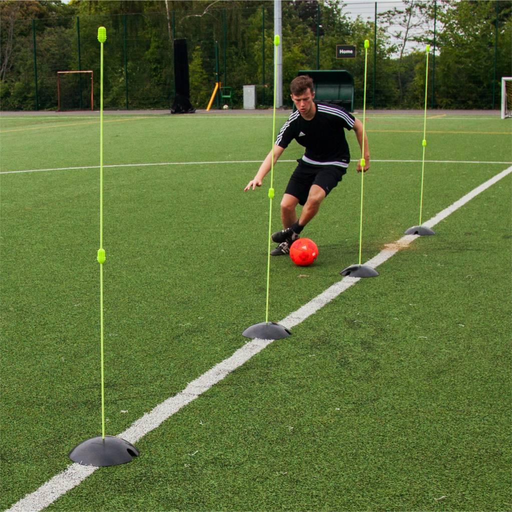 Taktisport Trainingsset Pro kunstgras: snelheid en coordinatie