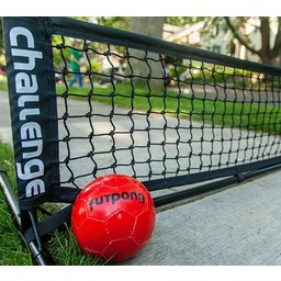 Taktisport Voetvolleyset 300cm de gazon artificiel - Copy