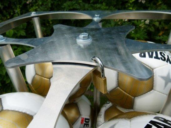 Taktisport Ballenwagen lichtgewicht aluminium