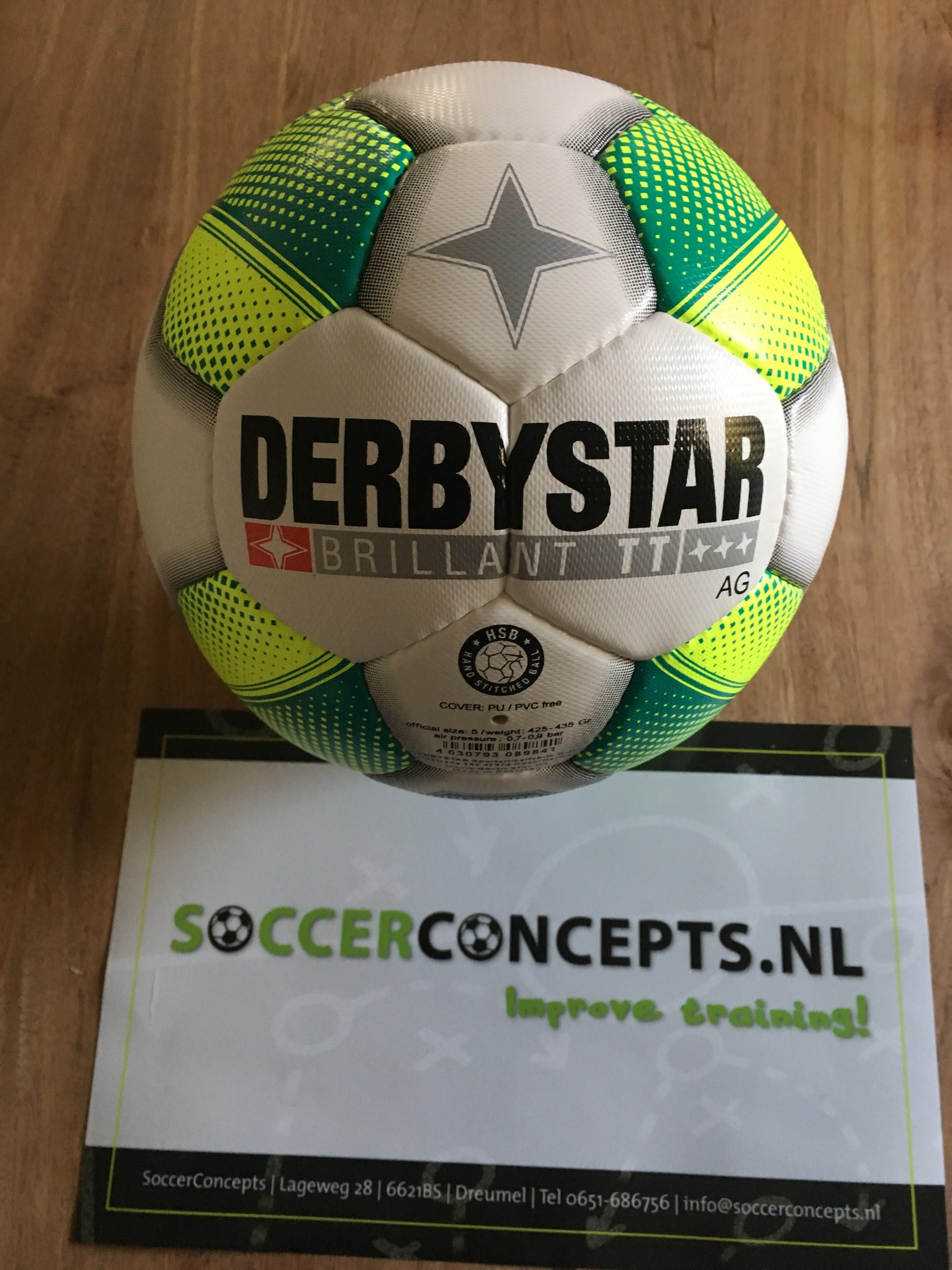 Derby Star Brillant TT AG Trainingsballen voor kunstgras