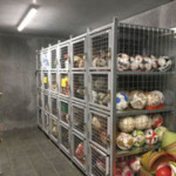 Taktisport Ballen locker met 4 units