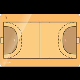 Taktiekbord  Basketbal in 4 maten