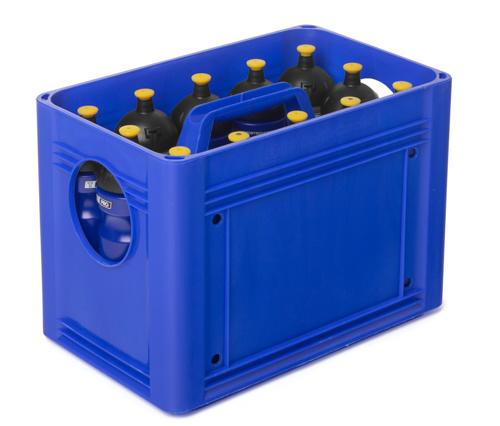 Taktisport Caisse de bouteilles (extra ferme) pour 10 bouteilles - Copy