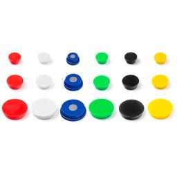 Reserve magneet set 15 stuks in 6 kleuren