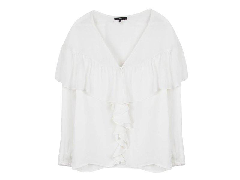 Alix The Label Light crepe blouse