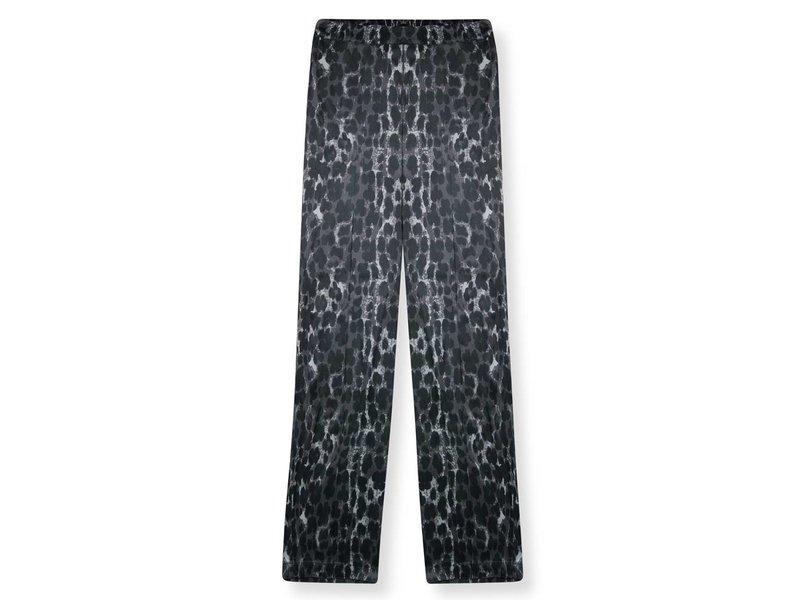 Alix The Label Animal satin pants