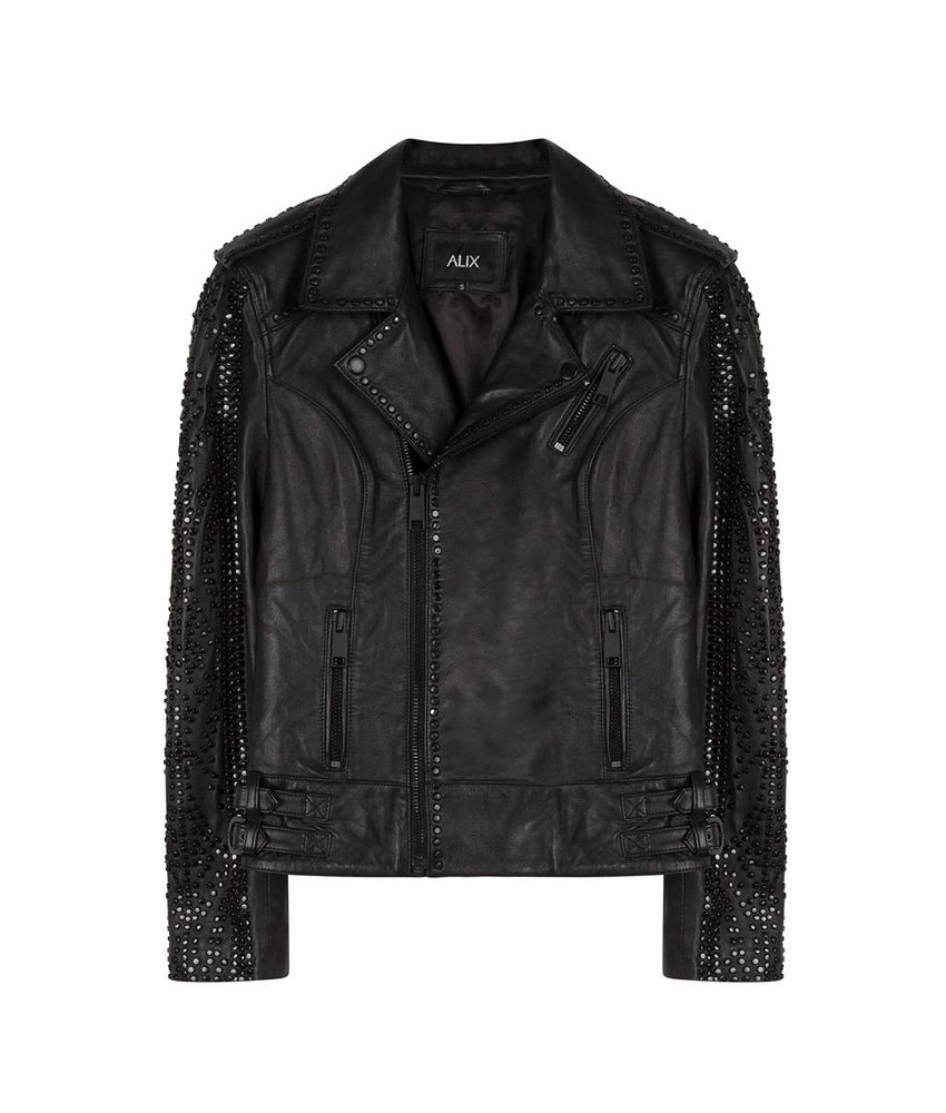 Alix The Label Leather Jacket