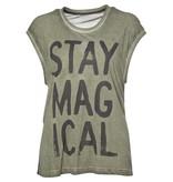 Caddis Fly Magical t-shirt Martini olive