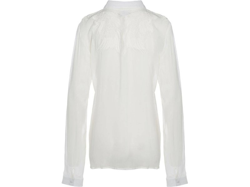 NÜ Denmark Blouse met embroidered print