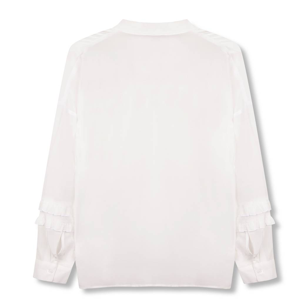 Alix The Label Ruffle blouse (off-white)