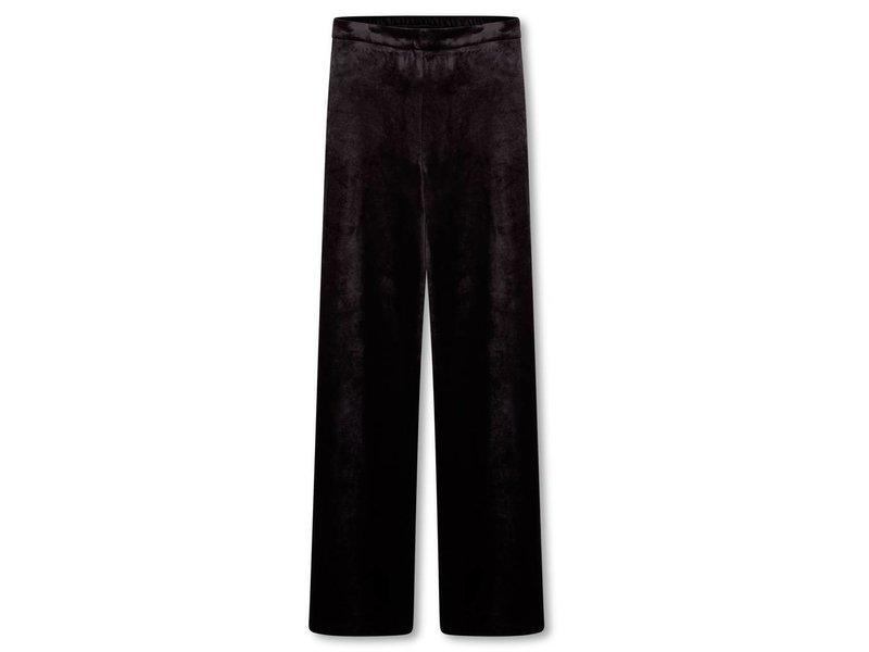 Alix The Label Velvet wide leg pants