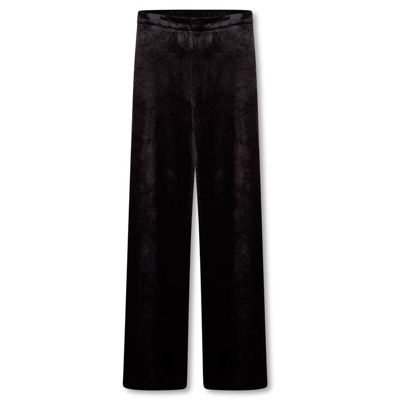 Alix The Label Velvet wide leg pants