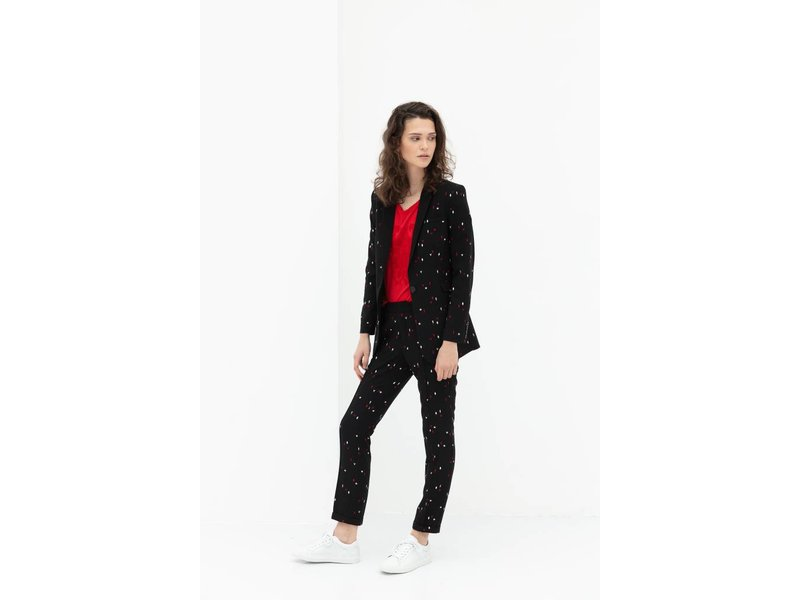 Alix The Label Graphic blazer