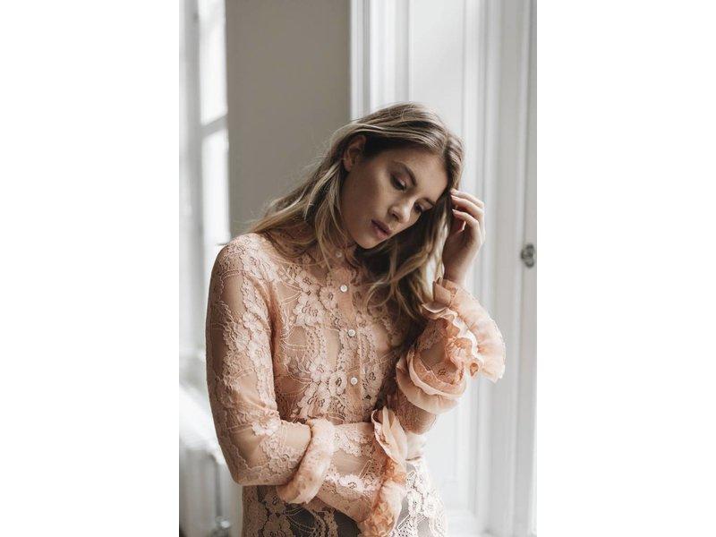 Alix The Label Lace blouse (zwart)