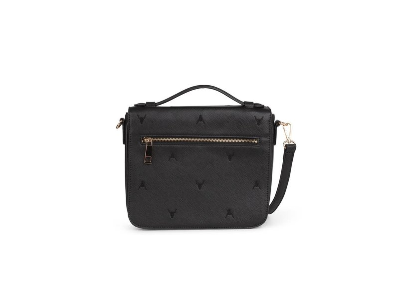 Alix The Label Leather look small bag (zwart)