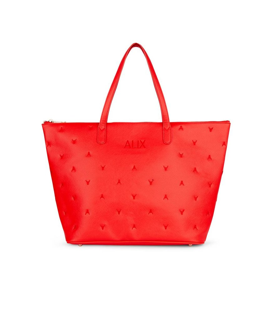 Alix The Label Bull shopper (rood)