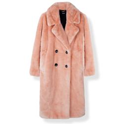 Oversized fur coat Alix the label kopen