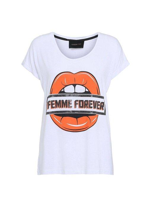 Caddis Fly Femme forever t-shirt