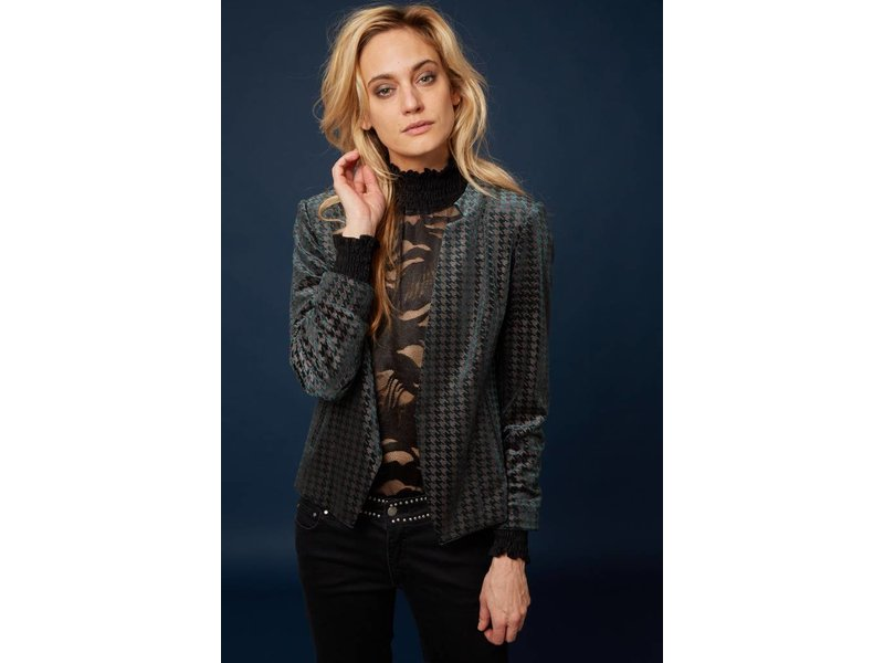 Caddis Fly Mystery Lace blouse