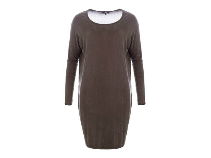8d9e3ed862e3c2 Alix the label - Stoere cupro jurk - Hippe jurken online -