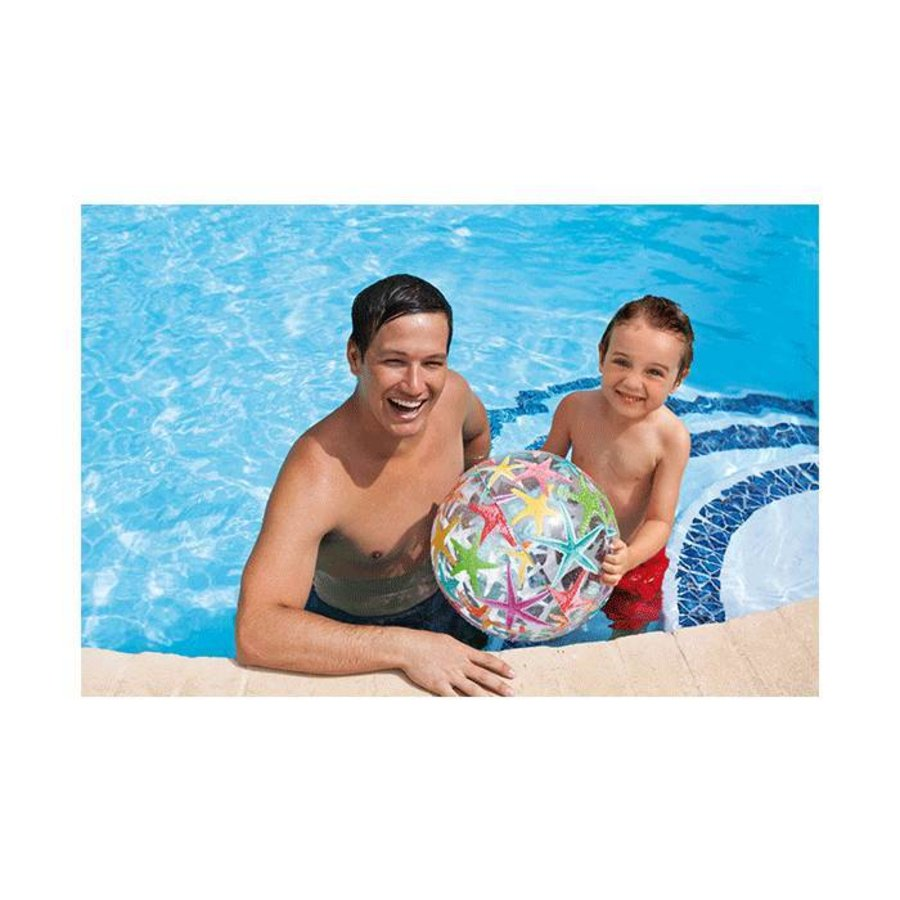 Intex opblaasbare strandbal onderwater 61 cm-5