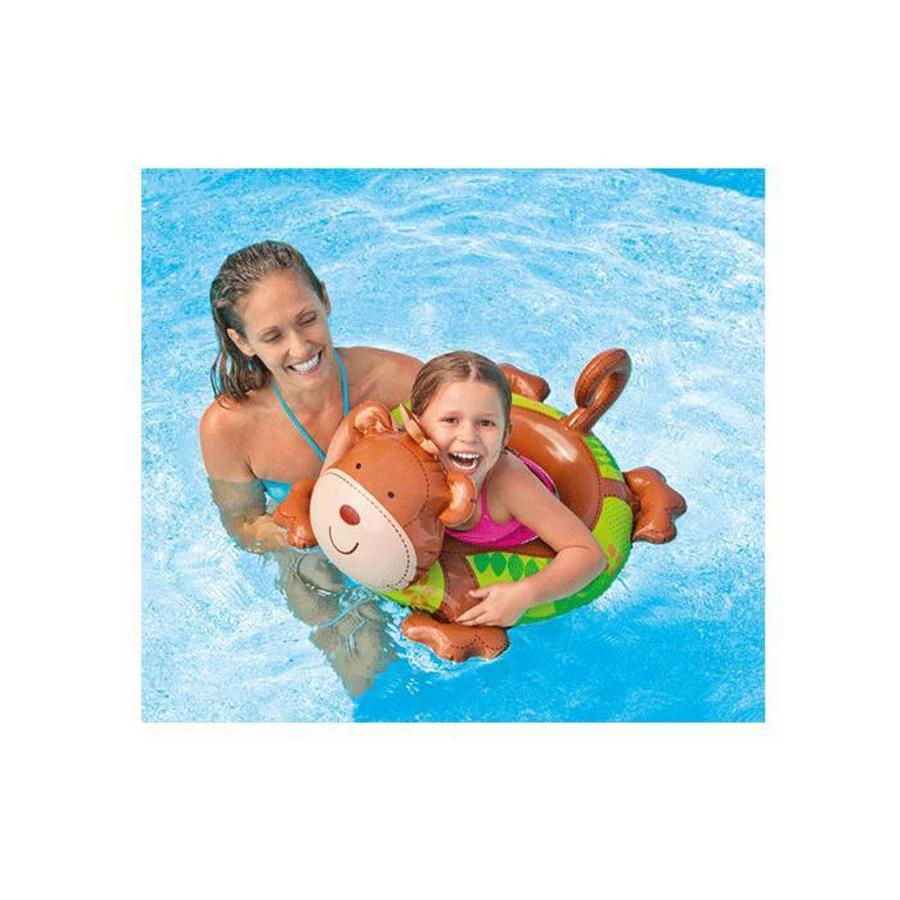 Intex big animal zwemband aap-6