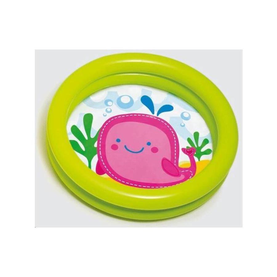 Intex eerste babyzwembad 61cm x 15cm (walvis)-2