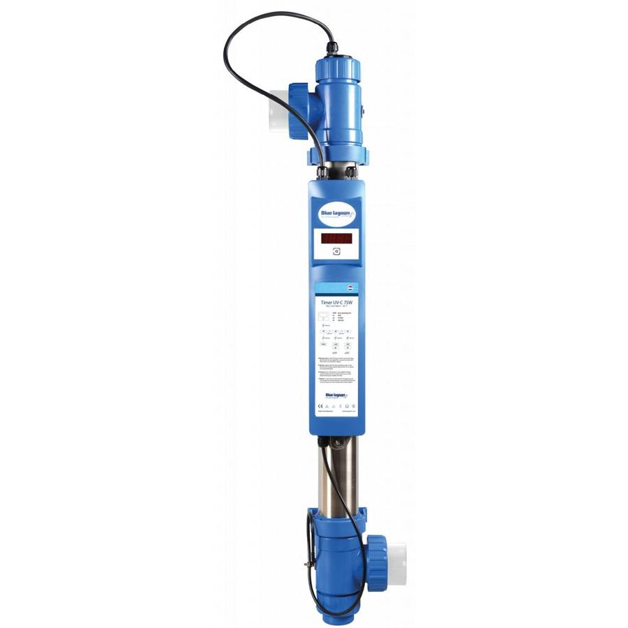 Blue Lagoon UV-C timer 130 watt (Amalgaam) met flowswitch-1