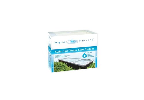 AquaFinesse Swim Spa Water Care box