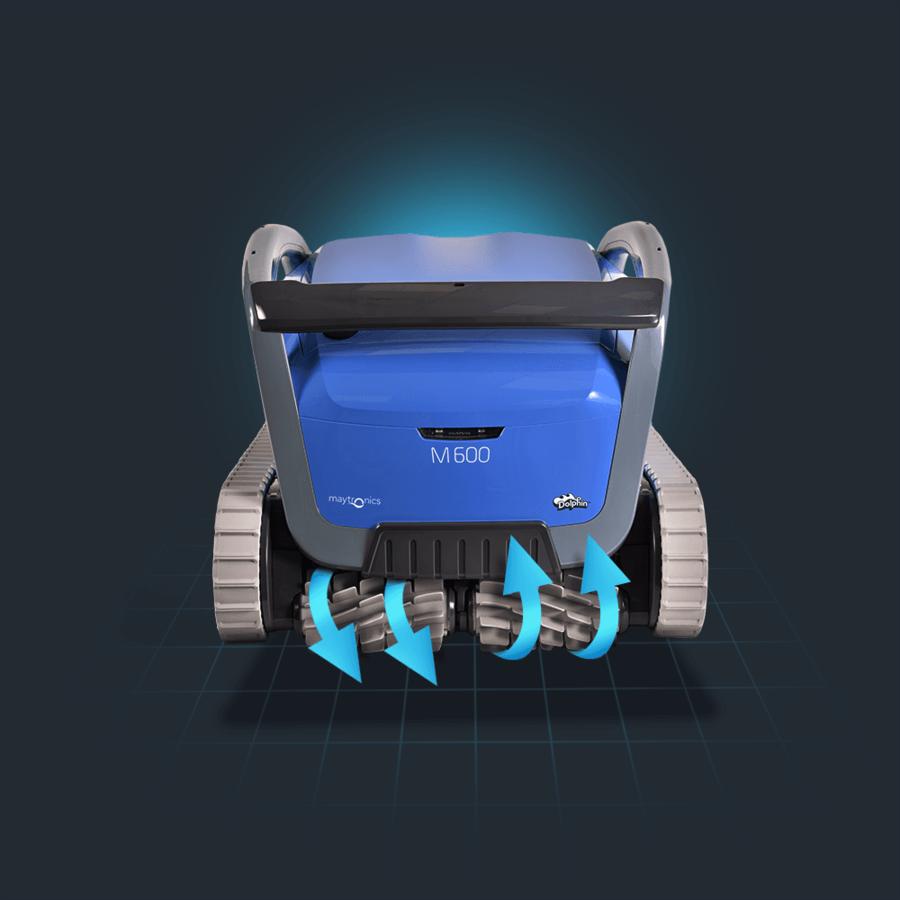 Dolphin Supreme M600 Zwembadrobot-3