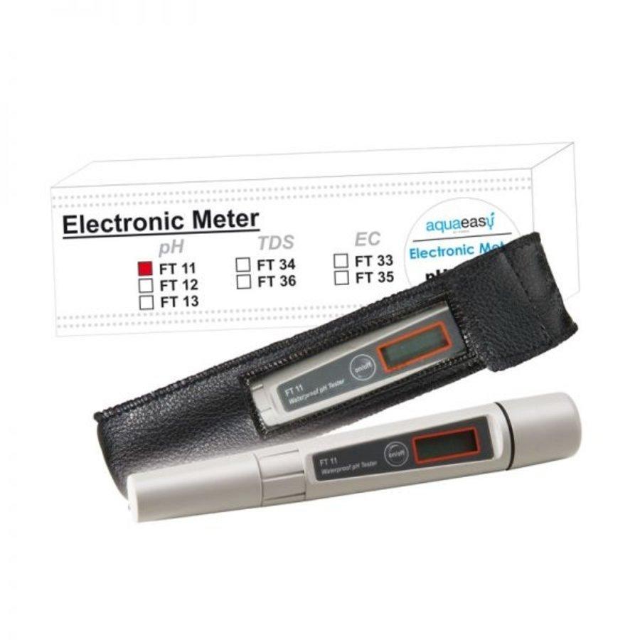 Aqua Easy FT 11 Electronische Handmeter in etui voor meting pH-1