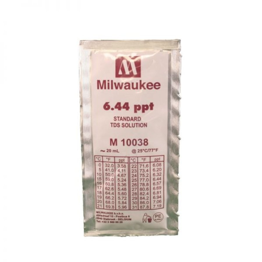 Aqua Easy buffervloeistof TDS 6,44 ppt Inhoud 20 ml-1
