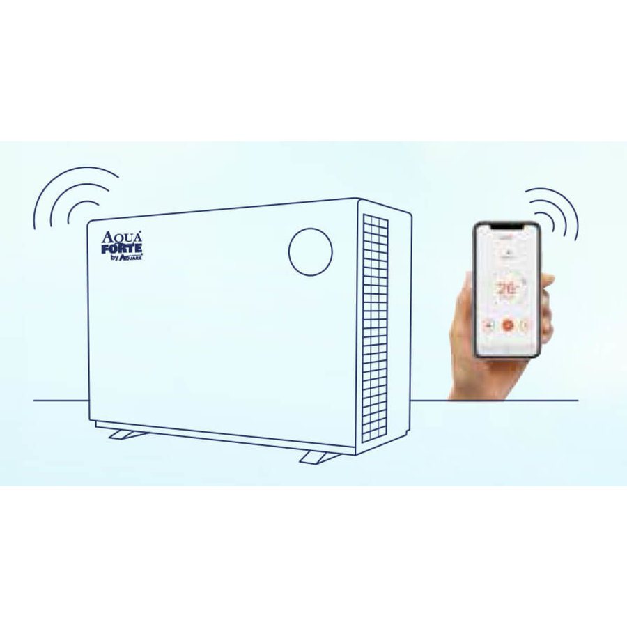 Aqua Forte Mr. Silence 21 kW Full Inverter Warmtepomp-2