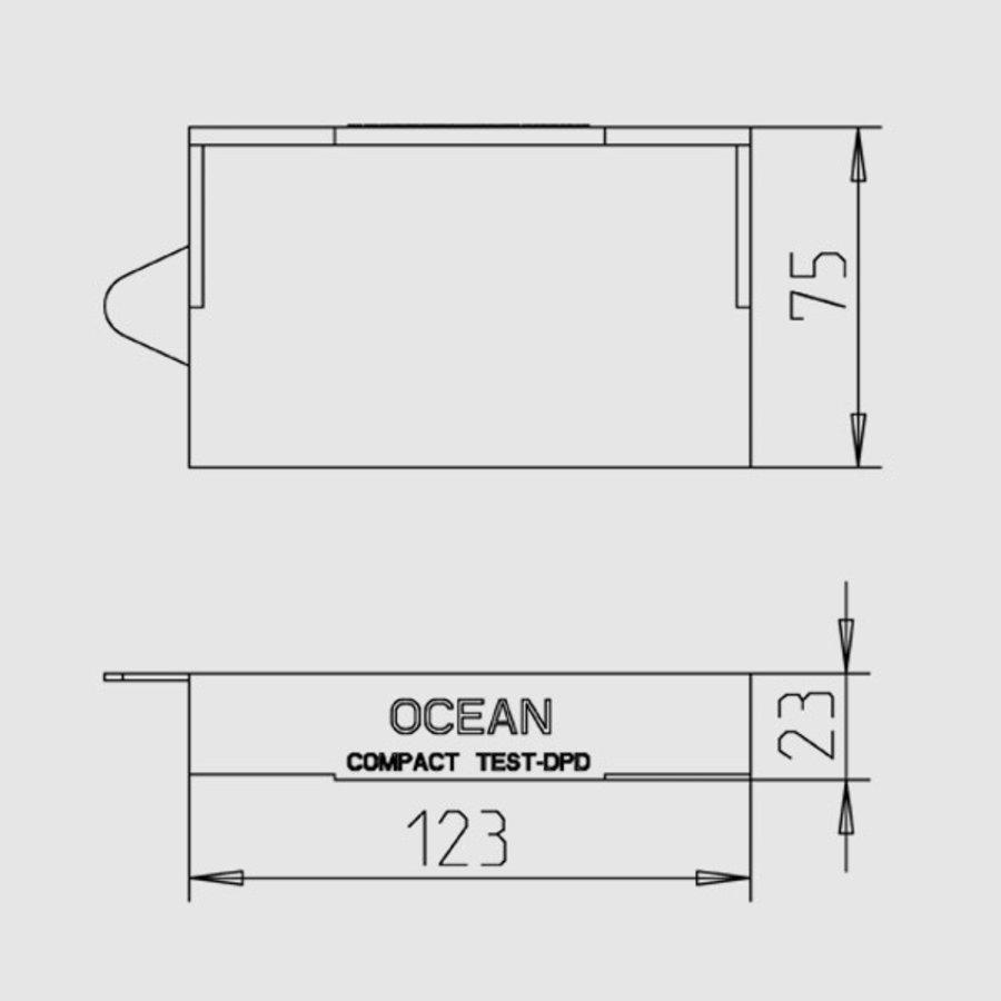 testset voor chloor en PH Ocean-2
