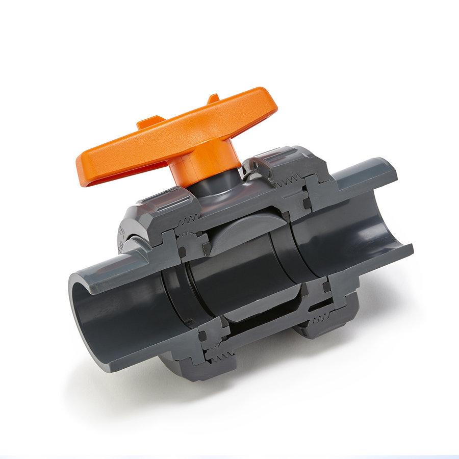 PVC kogelkraan Praher s6 63mm-1