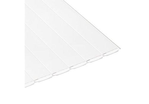 Aquadeck Lamellen PVC wit